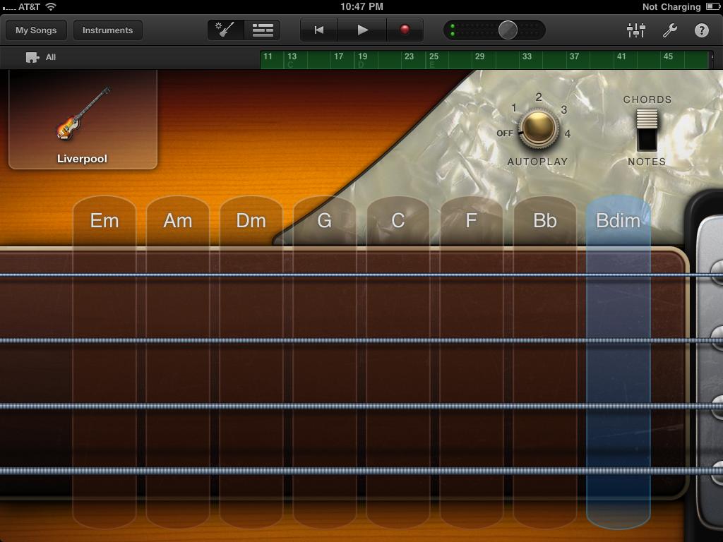 GarageBand Virtual Bass